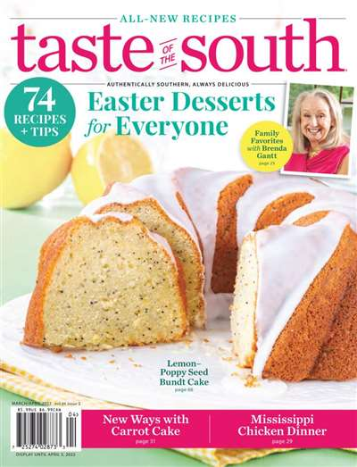 Taste Of South Magazine Subscription Canada