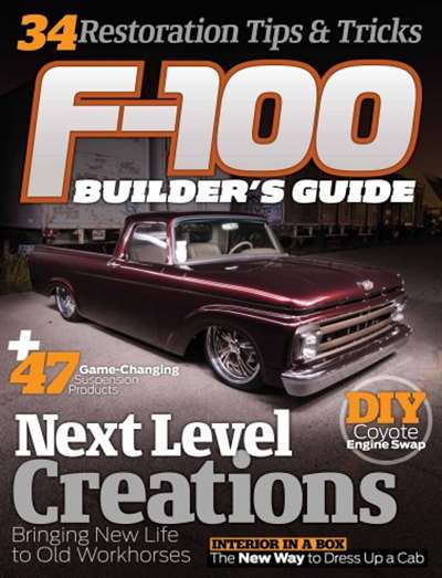 F100 Builders Guide Magazine Subscription