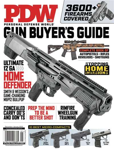 Personal Defense World Magazine Subscription