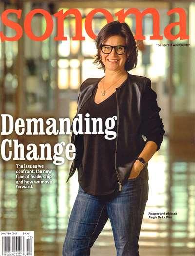 Sonoma Magazine Subscription