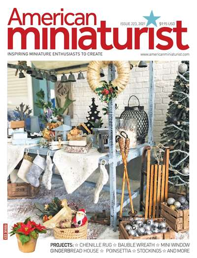 American Miniaturist Magazine Subscription United States