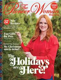 Magazine subscriptions for less for The pioneer woman magazine subscription