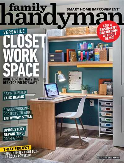 The Family Handyman Magazine Subscription Canada
