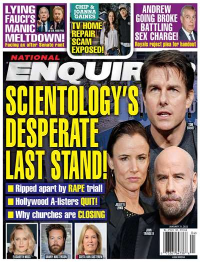 About The National Enquirer The National Enquirer is a celebrity news magazine that has been providing the news that
