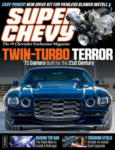 a critical analysis of the super chevy magazine designed for the owners of high performance chevys Chevy high performance 28m likes the authoritative source for all chevy enthusiasts follow us on twitter: wwwtwittercom/chevyhigh as the magazine of choice for hands-on do-it-yourself enthusiasts, chevy high performance defines hi.