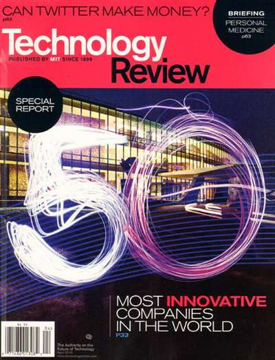 Technology Review Magazin