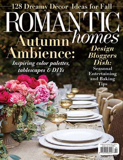 Romantic Homes Magazine Subscription Canada