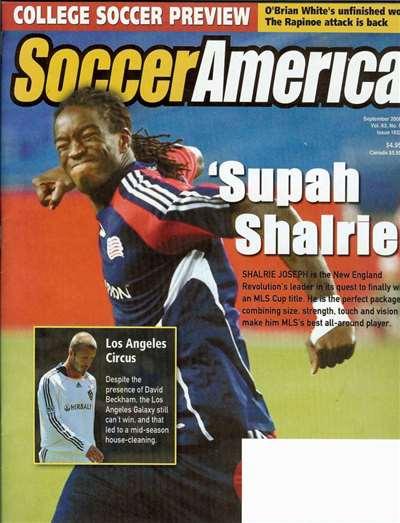 Soccer America Magazine Subscription Canada