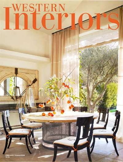 Western Interiors Design Magazine Subscription Canada