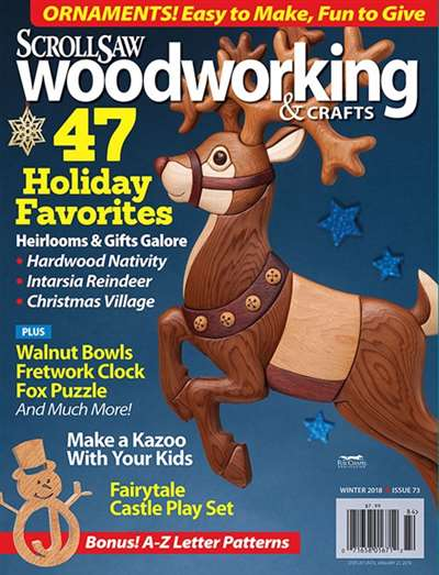Scroll Saw Woodworking Craft Magazine Subscription Canada