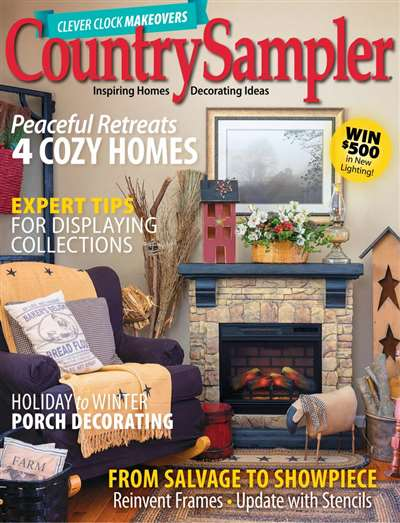Country Sampler Magazine Subscription Canada