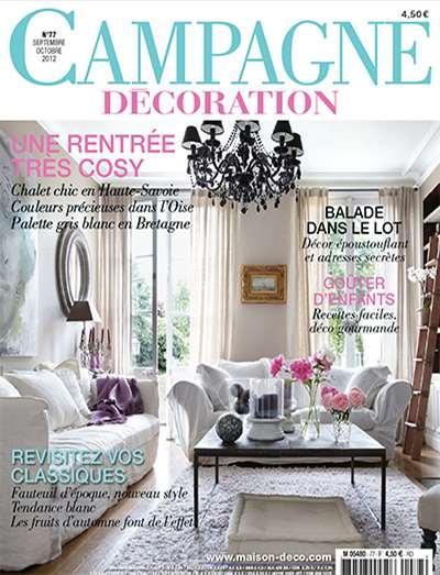 campagne decoration magazine subscription canada. Black Bedroom Furniture Sets. Home Design Ideas