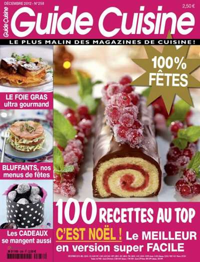 Guide Cuisine Magazine Subscription Canada