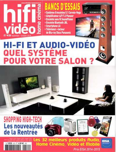 Hifi Video Home Cin  Magazine Subscription Canada
