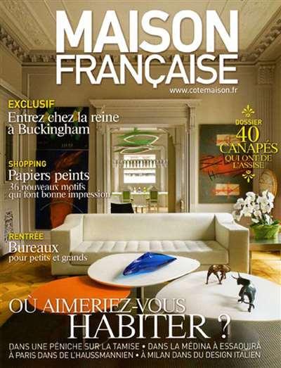 maison francaise magazine subscription uk. Black Bedroom Furniture Sets. Home Design Ideas