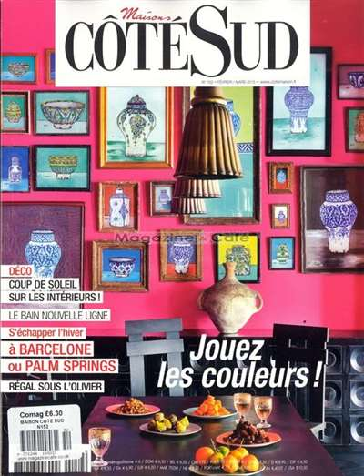 maisons cote sud est magazine subscription. Black Bedroom Furniture Sets. Home Design Ideas